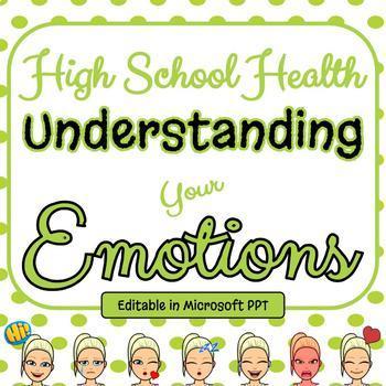 Emotional Health PPT - High School Wellness Standards