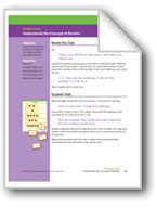 Understands the Concept of Number (Math Assessment PreK)