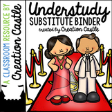Editable Substitute Binder with Hollywood Theme