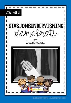 Undervisningsopplegg: Stasjonsundervisning om demokrati (Norsk /NOA)