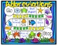 Abbreviations Game and Worsheets - 30 Task Cards!
