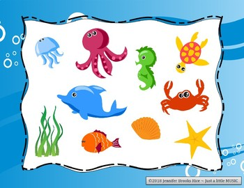 Underwater Adventure - Ocean Themed Melody Reading Practice Game {do}