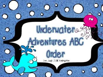 Underwater Adventures: Ocean ABC Order