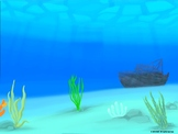 Underwater Animation Background part 1