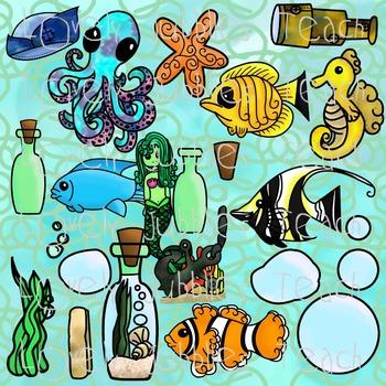 Underwater Clip Art