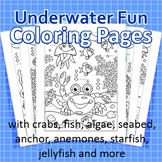 Underwater Fun Coloring Pages