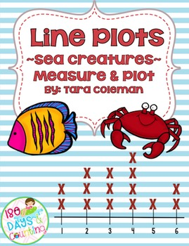 Line Plots ~Sea Creatures~