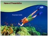 Underwater PowerPoint Template