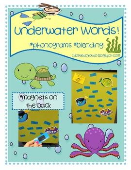 Underwater Word Blending