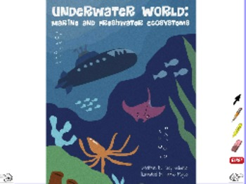 Underwater World: Marine and Freshwater Ecosystems - ActivInspire Flipchart