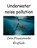 Underwater noise pollution