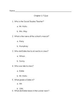 Underwear Ch1-7 Quiz