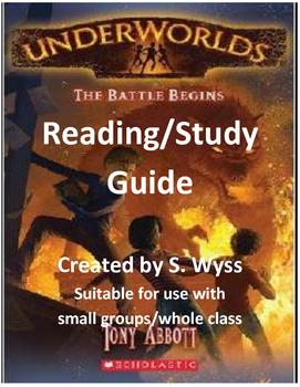 Underworlds The Battle Begins by Tony Abbott Study Guide