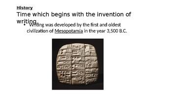 Undestanding History