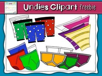 Undies Clipart Freebie