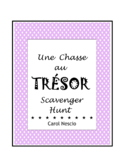 Une Chasse au Trésor ~ Scavenger Hunt ~ French Distance Learning