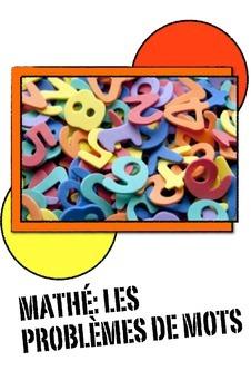 Une Collection des Problèmes de Mots en Français