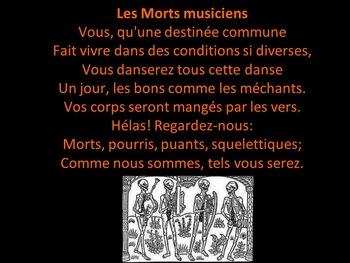 Une Halloween Musicale - Intermediate/Advanced French