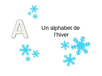 Une chanson : l'alphabet d'hiver - Winter Alphabet Song