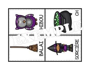 Une chasse aux mots - halloween