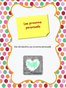 Une introduction aux pronoms personnels