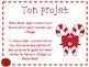 Une invitation pour le village du Père Noël:  French Christmas Project