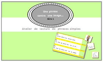 Une phrase contre unes image.... Série 1