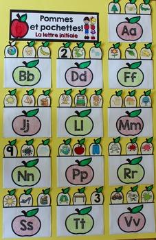 Une pomme par jour! (Comptine et activités) Les pommes, L'automne