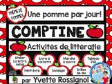 L'automne et les pommes  Ateliers et activités pour la lecture et l'écriture