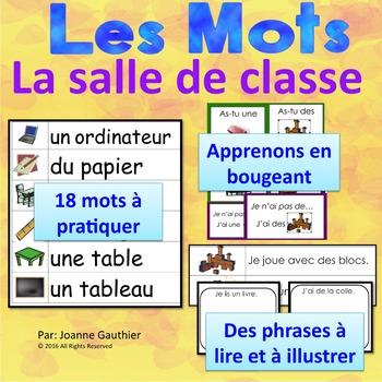 Je travaille mon vocabulaire: La salle de classe {French V