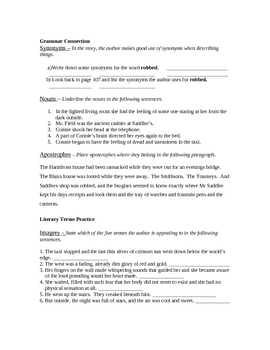 Uneasy Homecoming by Will Jenkins lesson plan