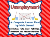 Unemployment - Lesson Plan and Activities