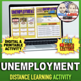 Unemployment Activity