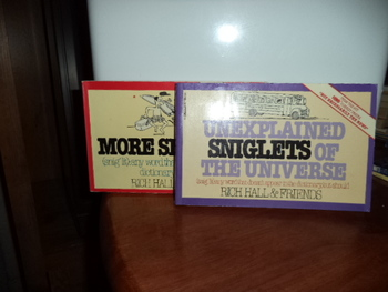 Unexplained Sniglets of the Universe,More Sniglets  (set of 2)
