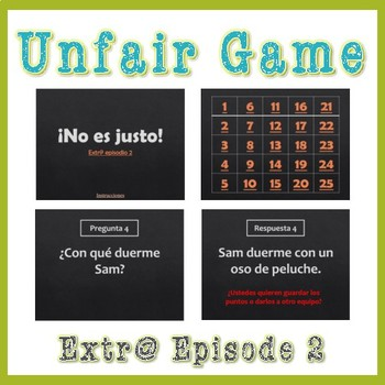 Unfair Game Extr@ en español Episode 2 (Spanish Extra en español)