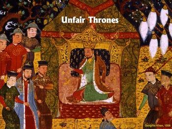 Unfair Thrones - subtracting fractions ($100 classroom challenge)