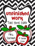 Unfinished Work Take Home Folder