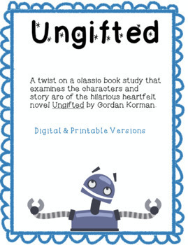 Ungifted Novel Study