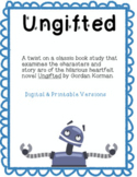 Ungifted Novel Study