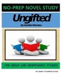 Ungifted Novel Study Lesson Plans-Gordon Korman