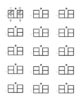 Ungrouping Subtraction Worksheet