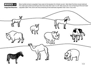 Ungulates: Herbivores with Hooves