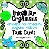Unicellular Organisms Task Cards: 7.L.1.1