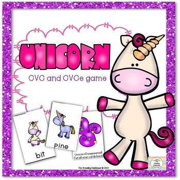 Unicorn - A CVC & CVCe Word Game