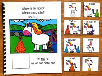 "Unicorn Adapted Book:  ""Where is Uni Hiding?"""