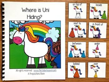 "Unicorn Adapted Book:  ""Where is Uni Hiding?"""