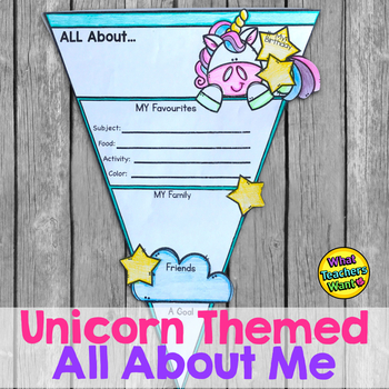 Unicorn All About ME Pennant