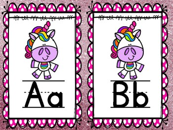 Unicorn Alphabet