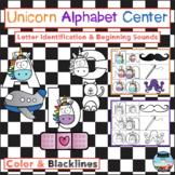 Unicorn Alphabet Center