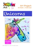 Unicorn Art Lesson Grades K-3